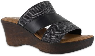 Easy Street Shoes Tuscany by Positano Women's Wedge Sandals