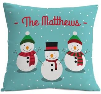 MonogramOnline Custom Gifts Snowman Pillowcase