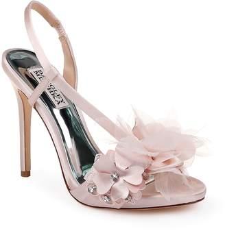 Badgley Mischka Collection Forever Flower Sandal