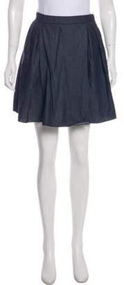 Miu Miu Denim Mini Skirt