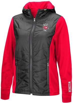 NCAA Unbranded Women's Wisconsin Badgers Long-Sleeved Full Zip Jacket