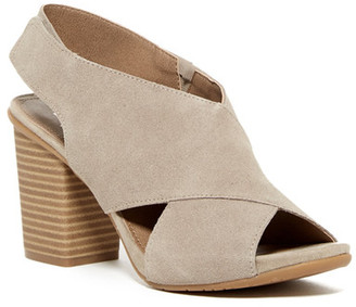 Kenneth Cole Reaction Cari Love Block Heel Sandal $79 thestylecure.com