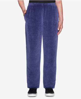 Alfred Dunner Comfortable Situations Velour Pull-On Pants