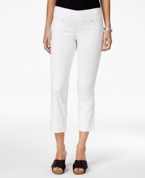 Style&Co. Style & Co Petite Ella Pull-On Capri Jeans, Created for Macy's