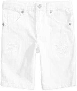 Epic Threads Toddler Boys White Denim Shorts