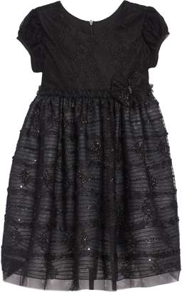 Chloé Isobella & Jazz Cat Lace Sparkle Dress