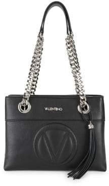 Kali Chain Strap Leather Shoulder Bag