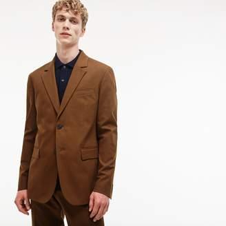Lacoste Men's Regular Fit Cotton Gabardine Jacket
