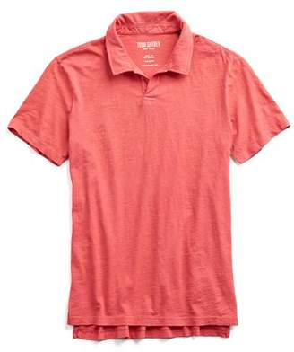 Todd Snyder Made in L.A. Montauk Polo in Red
