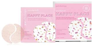 """Patchology Moodpatch \""""Happy Place\"""" Inspiring Tea-Infused Aromatherapy Eye Gel - Pack of 5"""