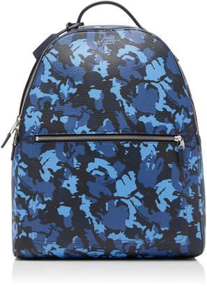 Smythson Burlington Camouflage Leather Backpack