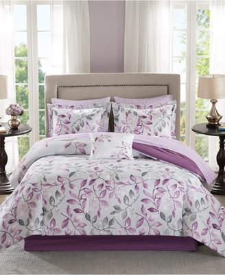 Madison Park Essentials Lafael 9-Pc. Queen Comforter Set Bedding