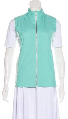 Kjus Stand Collar Zip-Up Vest