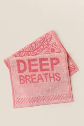 Plum And Punch Deep Breaths Sport Towel Set