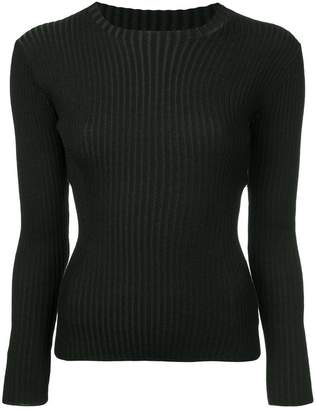 TOMORROWLAND ribbed knit top