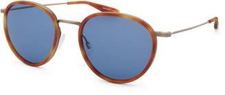Barton Perreira Men's Corso Havana Sunglasses