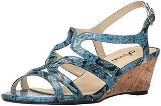 Annie Shoes Women's Aspen Espadrille Wedge Sandal