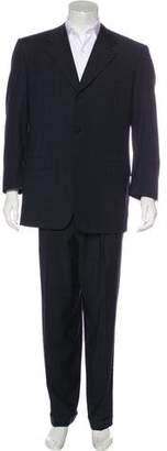 Canali Wool Cuffed Suit