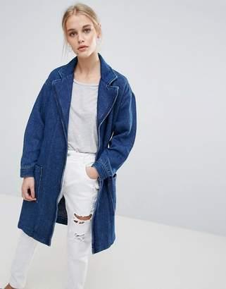 Pepe Jeans Kimmie Denim Kimono Wrap Jacket