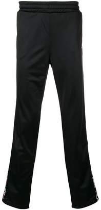 Fila contrast logo track pants