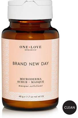 One Love Organics Brand New Day Microderma Scrub & Masque, 48g