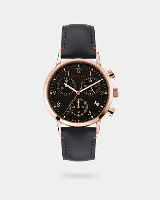 Ted Baker COSCHRB Leather strap watch