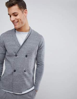 Selected Double Breasted Cardigan