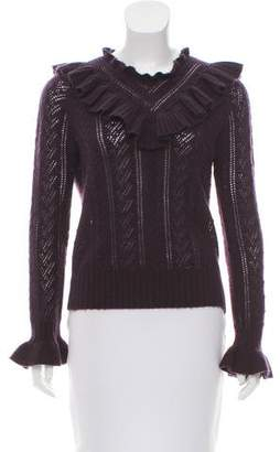 Ulla Johnson Cashmere Long Sleeve Sweater
