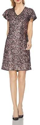 Vince Camuto Multicolored Sequin Dress