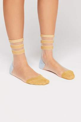 Peach Socks Good Sport Sheer Sock
