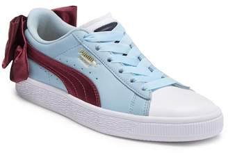 Puma Basket Bow Leather Sneaker
