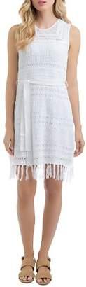 Lysse Sabra Lace-Knit Dress