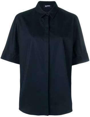 Jil Sander Navy plain shirt
