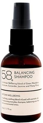 YLANG YLANG 58 Lifestyle 58 Balancing Shampoo With Extracts Of Green Manderin Geranium Coriander Jasmine & 50Ml