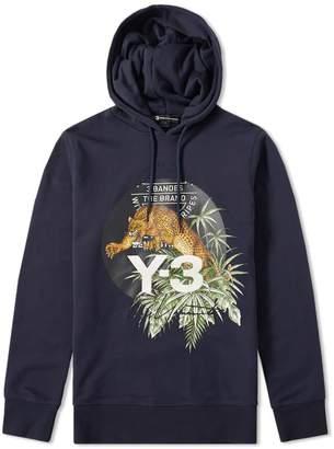 Y-3 Y 3 Embroidered Leopard Popover Hoody