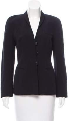 Giorgio Armani Tailored Silk Blazer