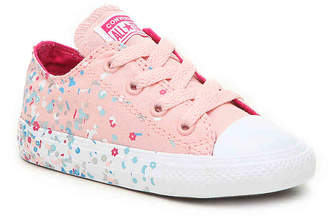 Converse Chuck Taylor All Star Confetti Infant & Toddler Sneaker - Girl's