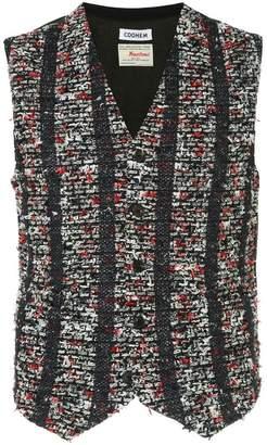 Coohem blazer tweed vest