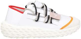 Giuseppe Zanotti Design Sneakers Urchin In Rubberized Leather White