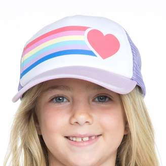 Chaser Girl's Rainbow Heart Hat