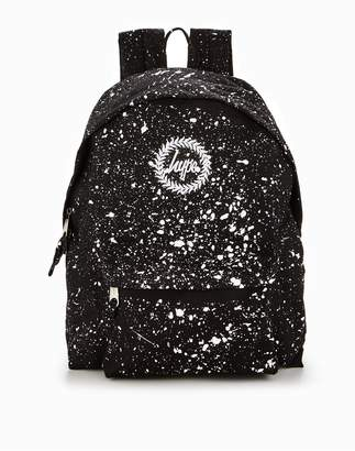 Hype Black & White Speckle Classic Backpack