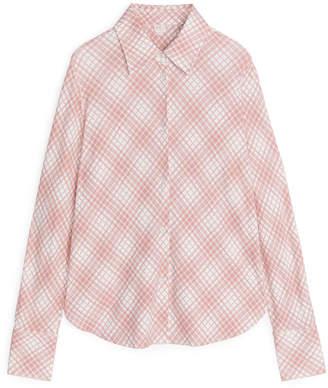 Arket Printed Jersey Shirt