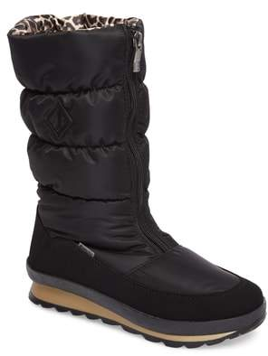 JOG DOG Cervina Waterproof Zip-Up Channel Quilted Boot