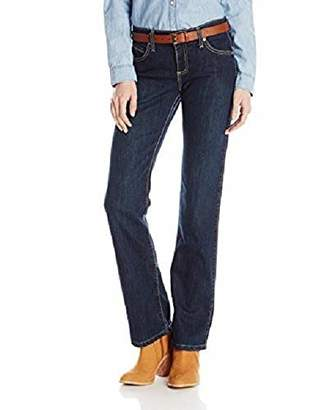 Wrangler Women's Q-Baby Mid Rise Boot Cut Ultimate Riding Jean