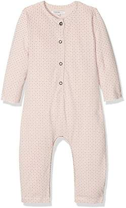 Noppies Baby Girls' G Playsuit Jrsy Guthrie Bodysuit,50 cm