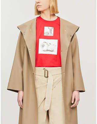 Burberry Deer-print cotton-jersey T-shirt
