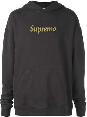 Rhude slogan printed sweatshirt