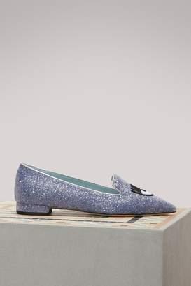 Chiara Ferragni Logomania slippers