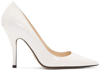 Marc Jacobs White The Proposal Heels