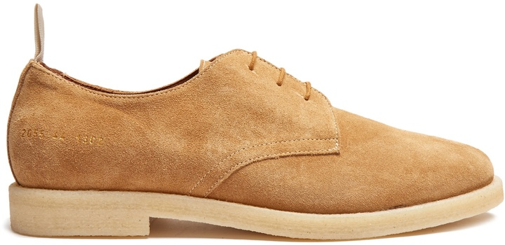 Common Projects COMMON PROJECTS Cadet suede derby shoes